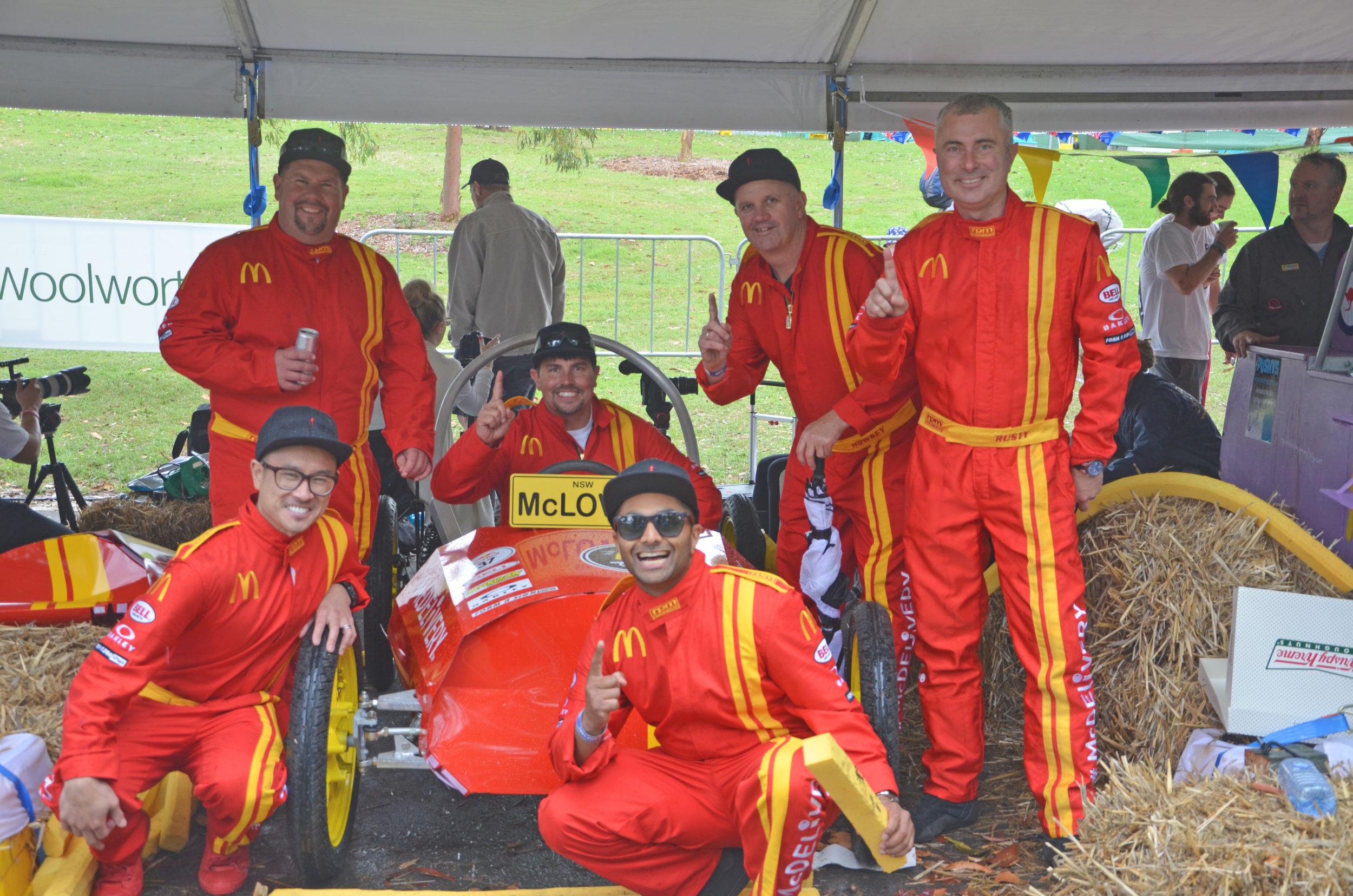mcdonalds race car team