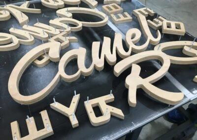 3d cut letters for sign