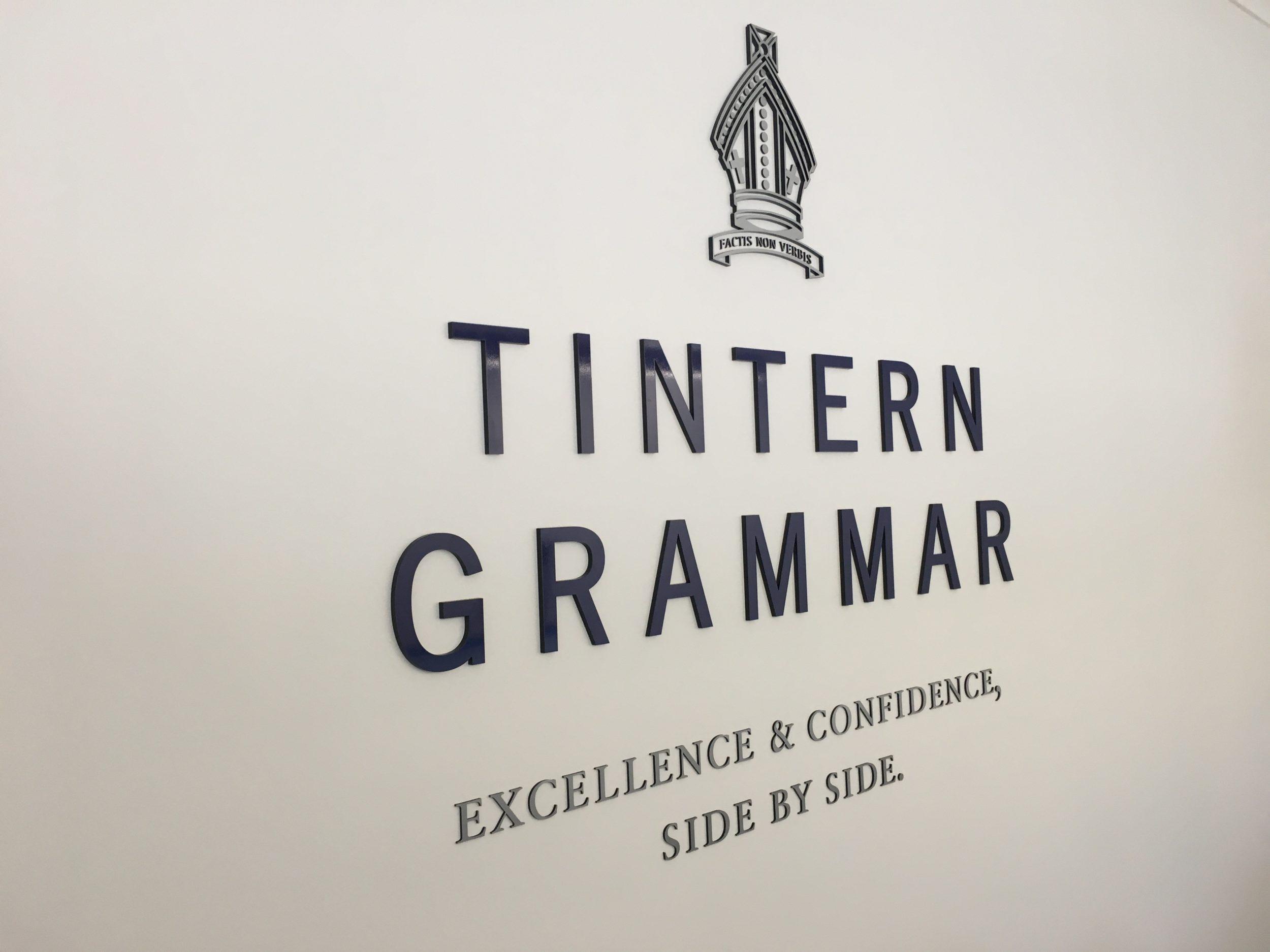 tintern 3d cut acrylic lettering