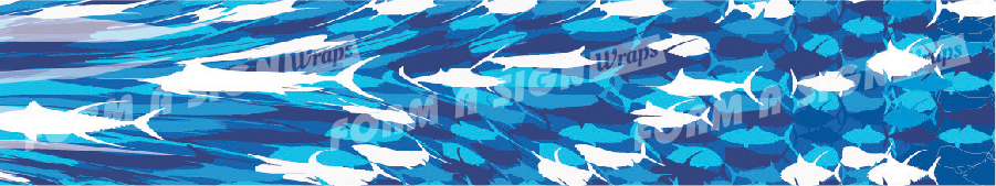 stock wrap for vinyl boat wrap bluewater fish camo