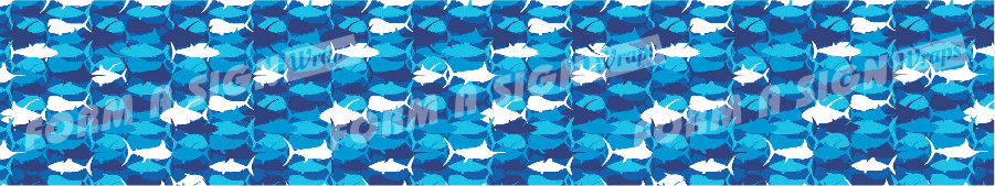 stock wrap for vinyl boat wrap blue fish camo