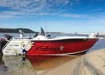 Krackatinie 2 boat wrap