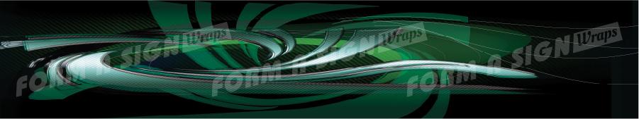 Carbon Swirl Green