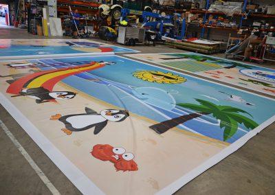 big waterproof banner