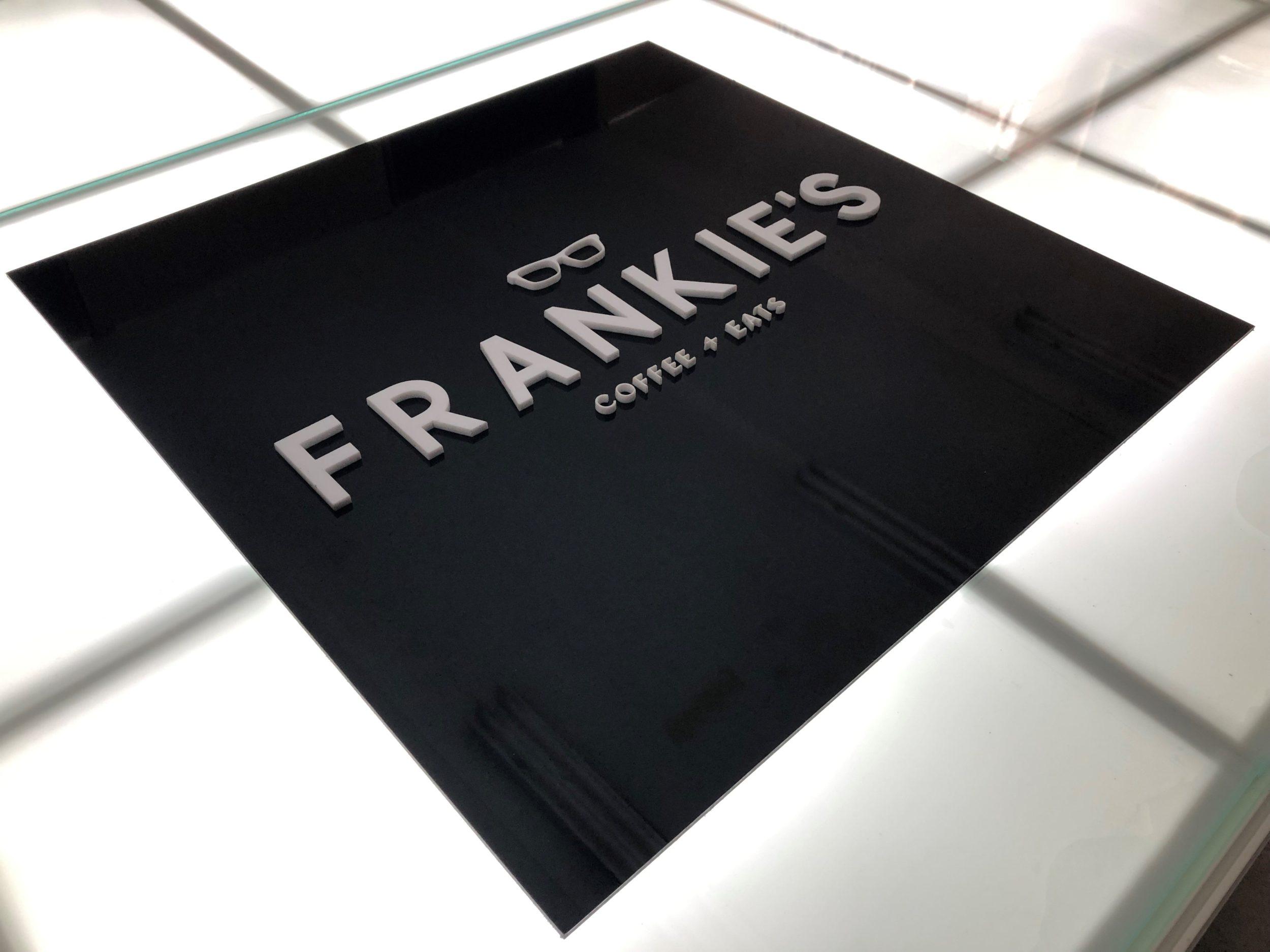 3D custom business signage