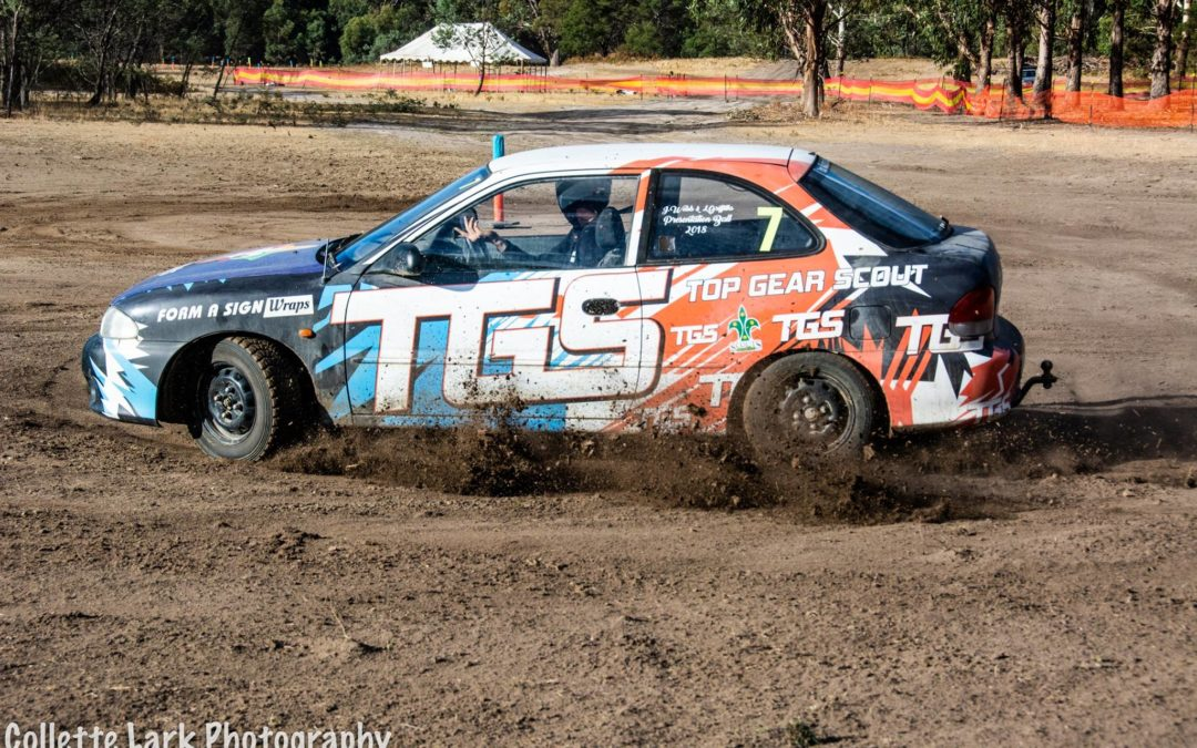 TGS scouts top gear car wrap