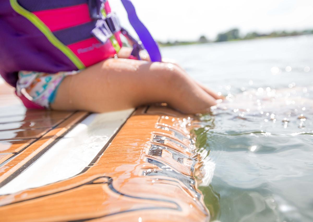 waterproof marine non slip boat flooring u-Dek
