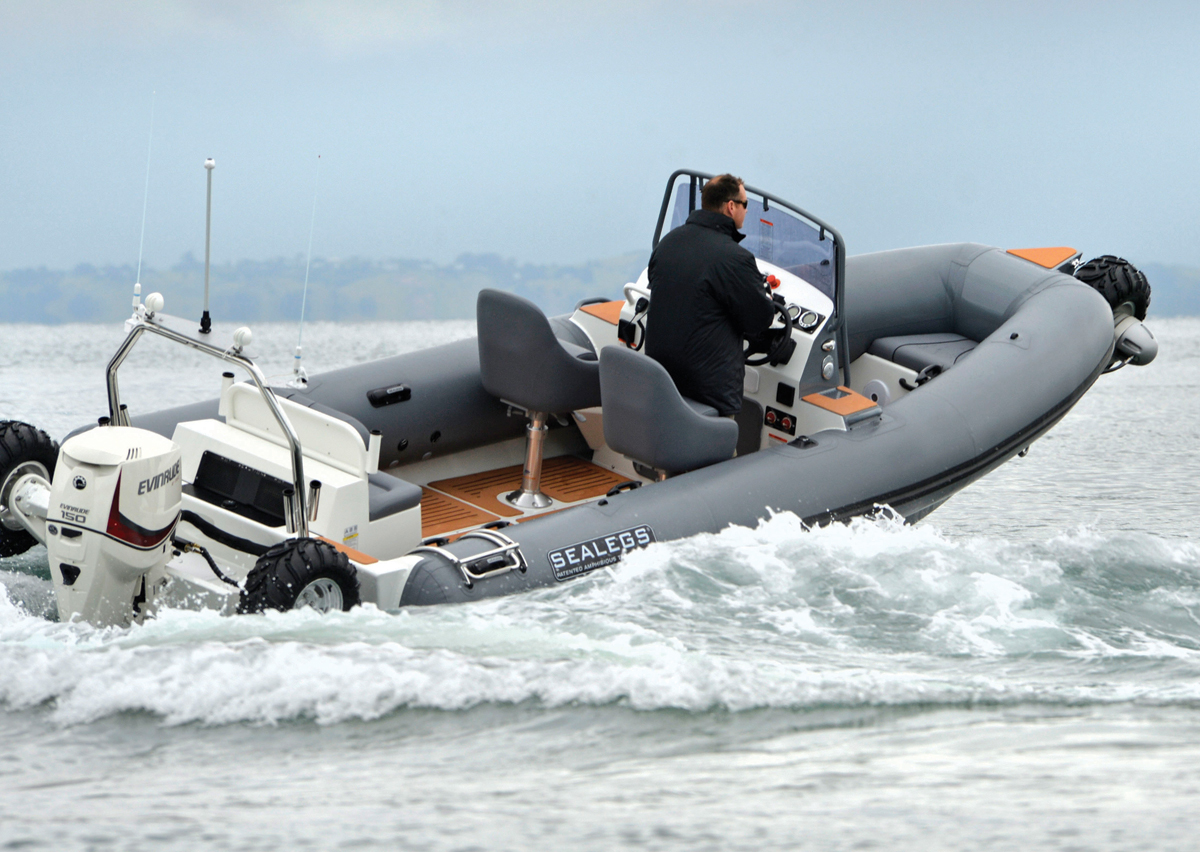 U-DEK sealegs marine boat flooring custom