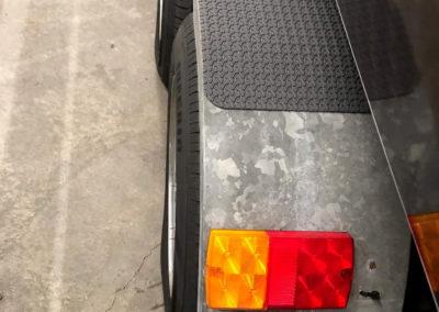 EVA foam trailer pad non slip z tread