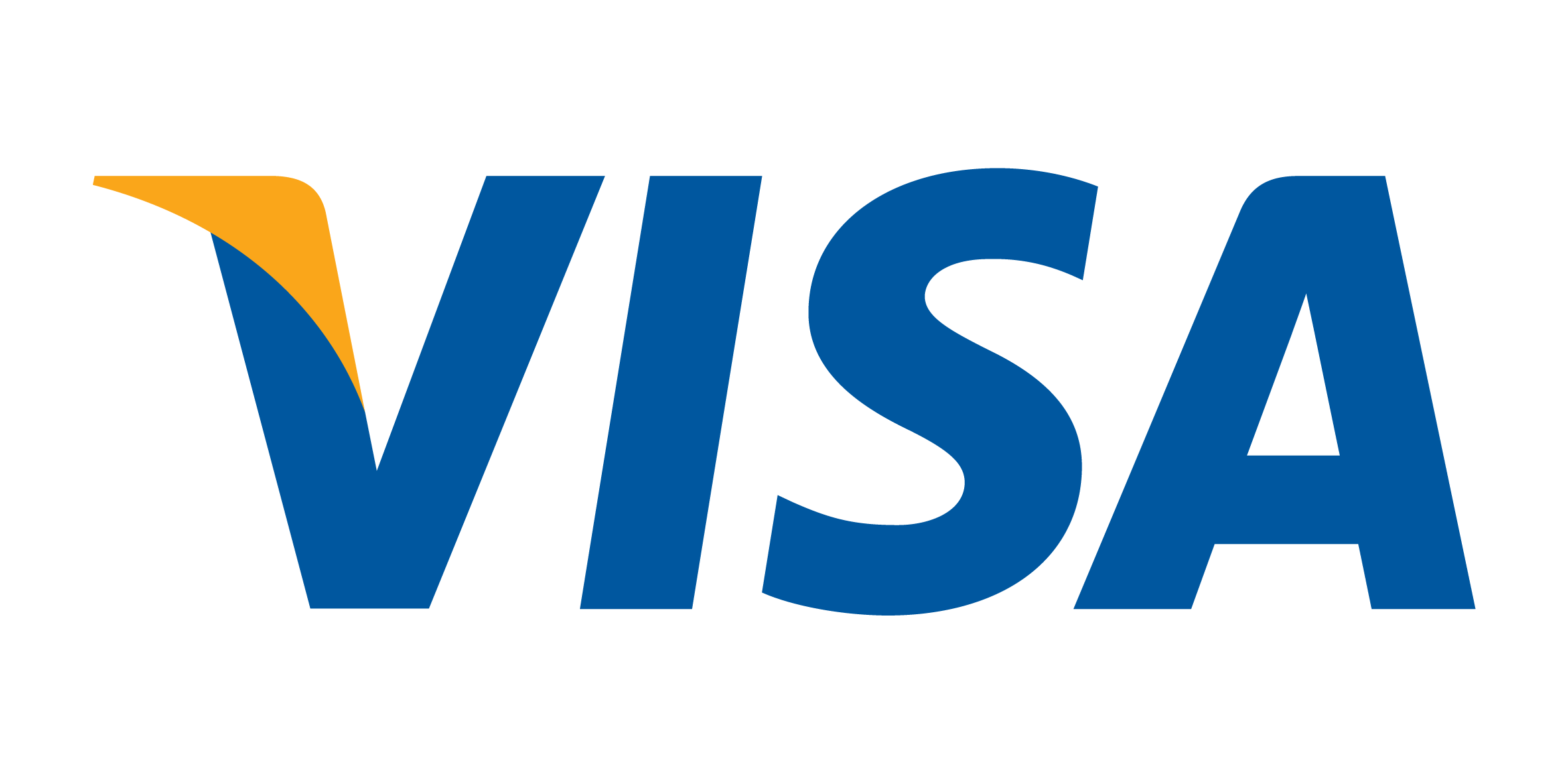 Visa payments accepted