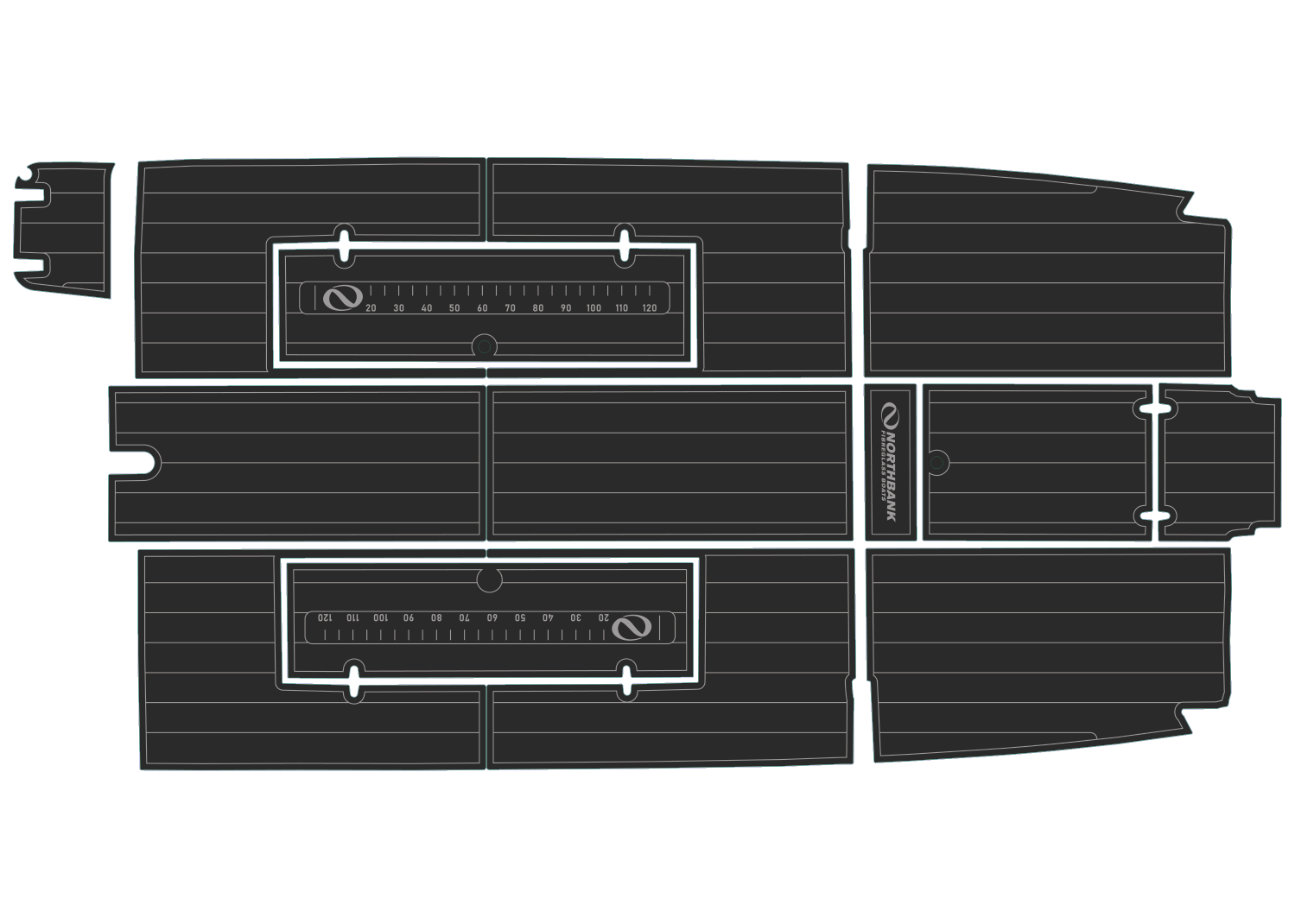 Northbank HT udek boat flooring