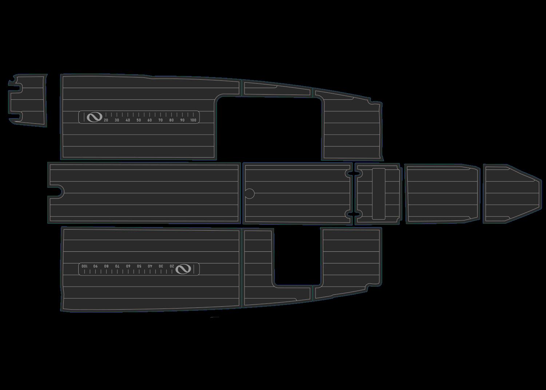 Northbank 600 udek boat flooring