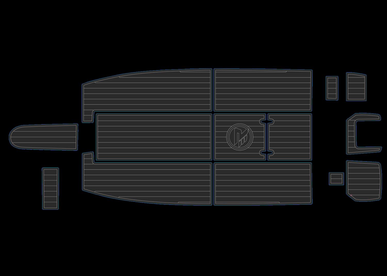 Revival 530X udek boat flooring