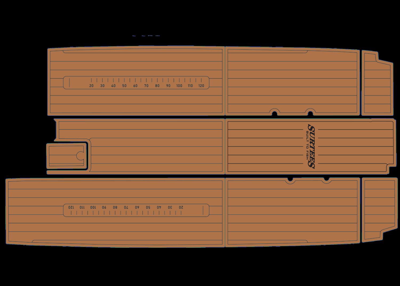 Surtees Game Fisher 650 udek boat flooring