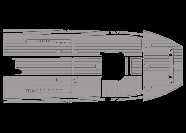 Bar Crusher 575 udek boat flooring