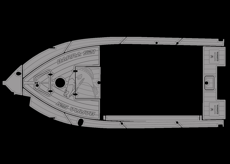 McLay Barra 521 udek boat flooring