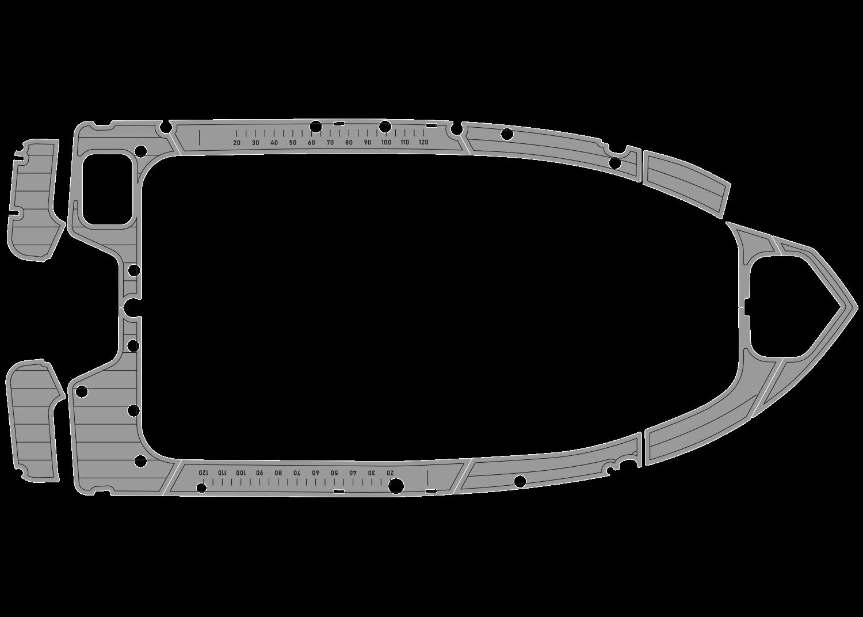 Quintrex 450 udek boat flooring