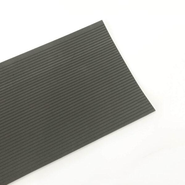 dark grey sheet of non slip surf grip