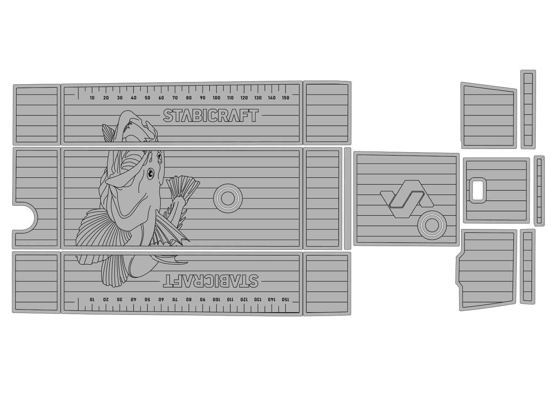 Stacer 429 udek boat flooring