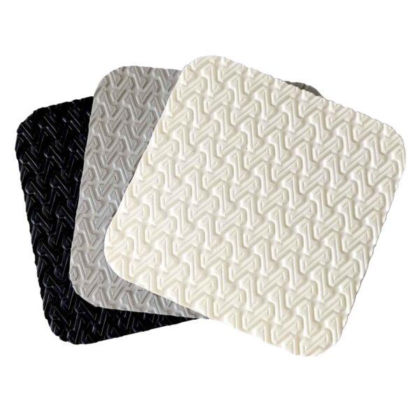 U-Tread Z Group Shot colour range white light grey black boat flooring